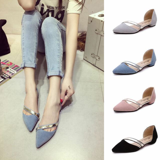 Women Ballet Flats Ballerina Slippers Casual Slip On Shoes Ladies Flat shoes
