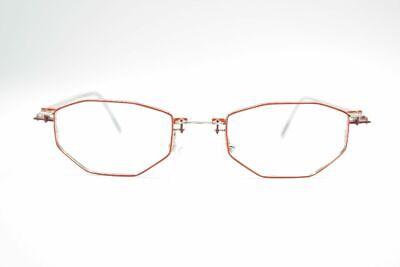 Ausdrucksvoll Vintage Ipotesi Tesi Art 322 40[]20 135 Rot Silber Oval Brille Eyeglasses Nos Die Neueste Mode
