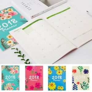 image is loading 2018 schedule flower design notebook monthly planner organizer