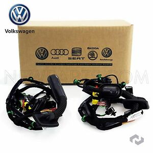 volkswagen jetta front driver left door wiring harness oe supplier rh ebay com 2006 jetta driver door wiring harness 2006 jetta tdi door wiring harness
