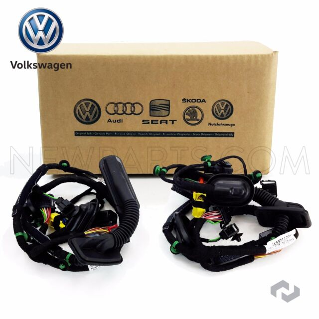 volkswagen jetta front driver left door wiring harness oem mk5 rh ebay com 2001 vw jetta door wiring harness 2005.5 vw jetta door wiring harness