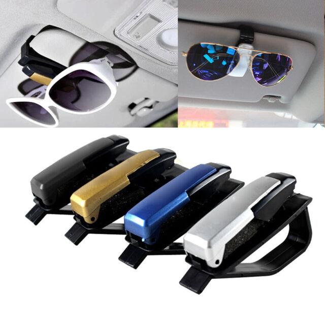 1PCS Car Vehicle Accessory Sun Visor Eye Glasses Sunglasses Card Pen Clip Holder