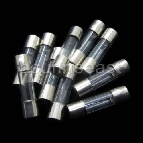 100PCS 20A 250V Quick Fast Blow Glass Tube Fuse 5x20mm F20AL250V Wholesale