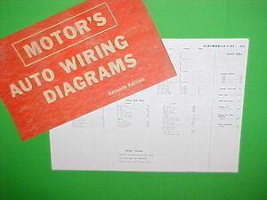 details about 1963 1964 1965 1966 1967 oldsmobile f 85 f85 cutlass supreme 442 wiring diagrams 1967 Oldsmobile Wire Diagram