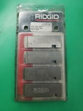 """RIDGID Dies 31822 1-2/"""" NPT Universal Coated Pipe High Speed 711 815a for sale online"""