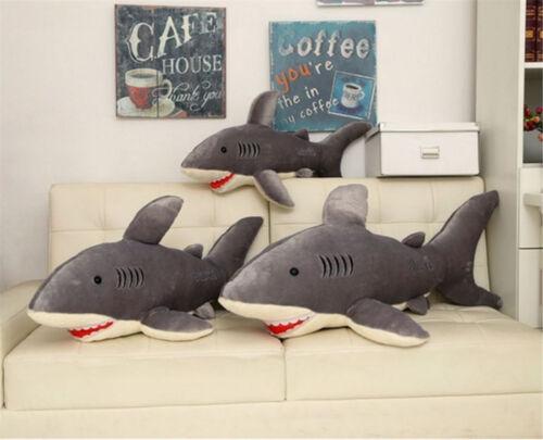 Hot Sale Big Shark Stuffed Animal Soft Plush Doll Pillow Cushion Toy 75//95//120CM