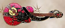 Hard Rock Cafe ST. LOUIS 1998 Dead Rocker PIN Red Cochran Gretsch Guitar #8859