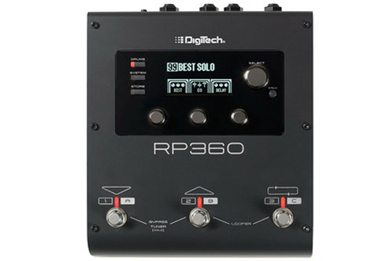 DigiTech DigiTech DigiTech RP360 Guitar Multi-Effects Processor 62d2de