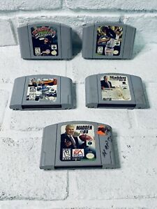 Nintendo-64-N64-5-Game-Lot-Cleaned-And-Tested-Authentic-Cartridges-Only