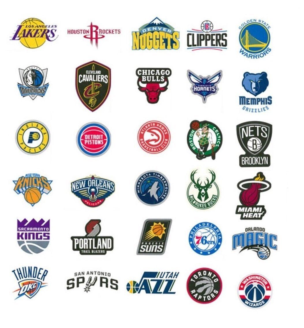 NBA les Sticker/Autocollant-Basket-Logo-Toutes les NBA équipes-BULLS, LAKERS etc 67c2ab