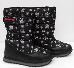 Details about CAMPRI Snow Boots Uk 6 7 GirlsWomen's Apres Ski Winter Fleece Jogger NEW