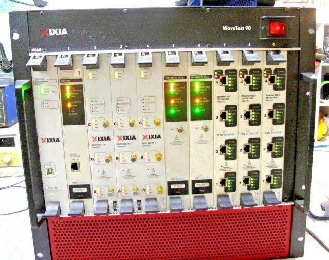 Ixias Award Winning Wireless Test System — Totoku