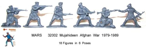 Mars 32002 Mujahideen Afghan War 1979-1989 toy soldiers