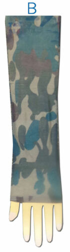 Single Arm or PAIR NEW! Green or Blue Camouflage Tattoo Sleeves Camo Army Red