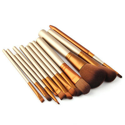 32pcs Eyebrow Shadow Soft Professional Makeup Brush Set Kit Makeup tools + Bag