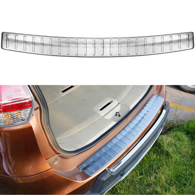Stainless steel Rear Bumper Sill Protector cover For Nissan Rogue// X-Trail T32