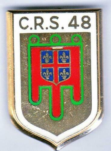 Insigne Police CRS 48 Clermont Ferrand 51048.005