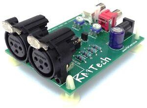 Balanced To Unbalanced Converter : stereo balanced to unbalanced audio line converter adapter ultra low noise ebay ~ Vivirlamusica.com Haus und Dekorationen