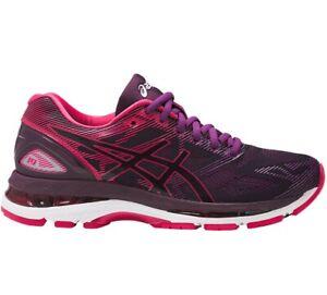 Asics-Gel-Nimbus-19-Neutral-Running-shoe-Pink-Purple-White-T750N-9020-Womens-5