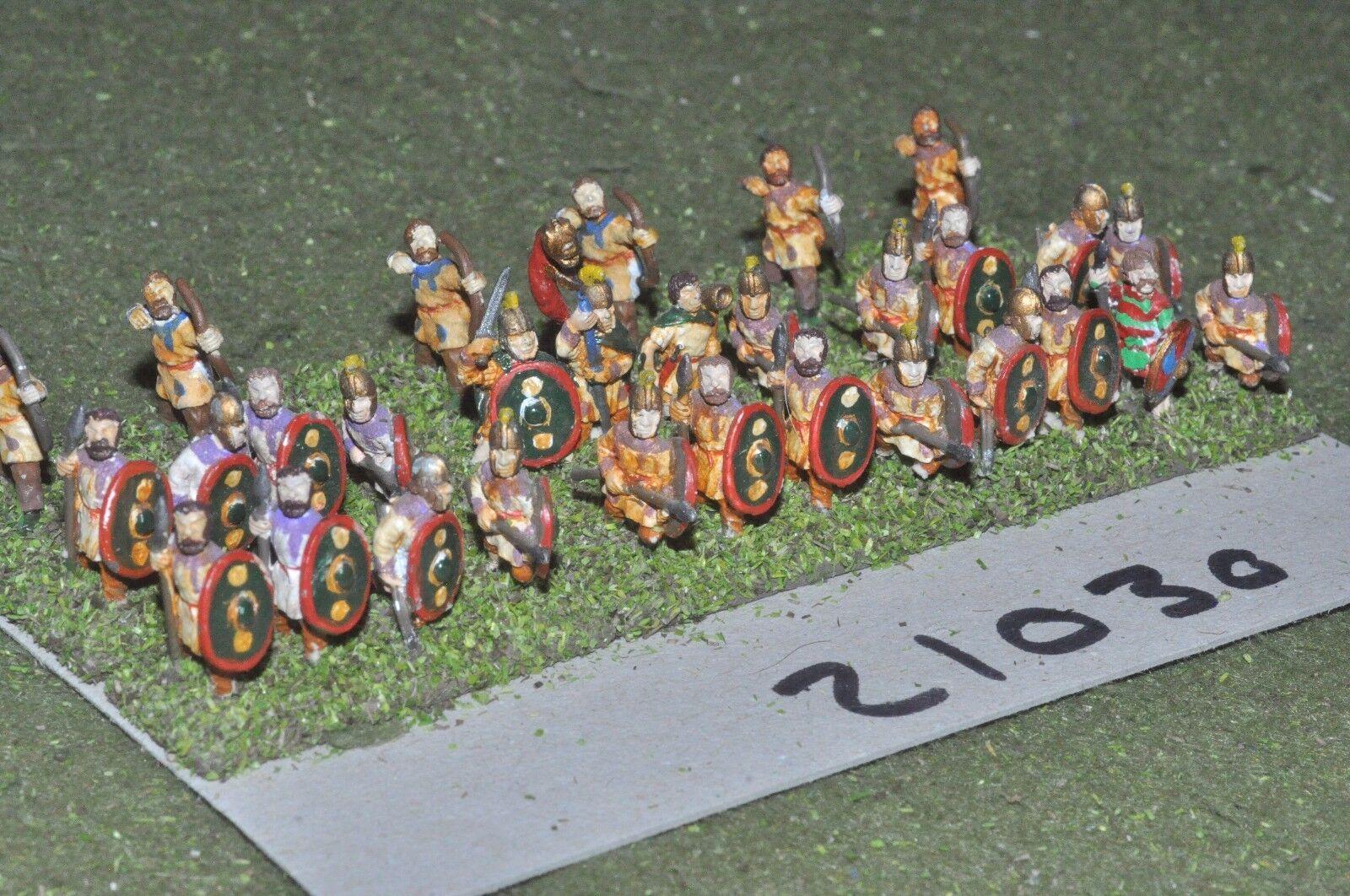 15mm roman era   roman - late legionaries 30 figs - inf (21030)