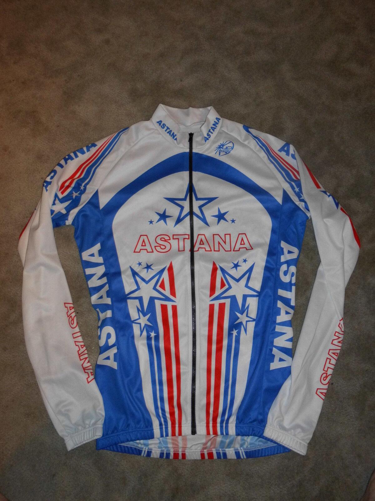 Rareza Bontrager Team Astana Trek estados unidos Champ Jersey maestro camiseta