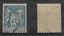 miniature 1 - Timbre-FRANCE-N-101-15c-bleu-SAGE-type-II-1892-Obli-Convoyeur-Papier-quadrille