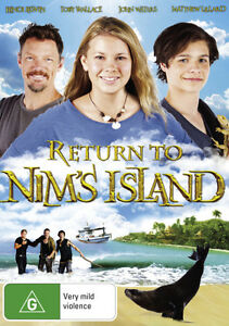 Return-to-Nim-039-s-Island-NEW-DVD-Region-4-Australia-Bindi-Irwin