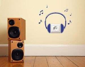 Head-Phones-Highest-Quality-Wall-Decal-Sticker