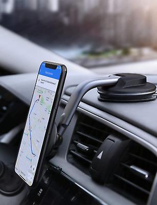 AUKEY Support Téléphone VoitureMagnétique Rotation à 360 Degrés Tableau de Bord