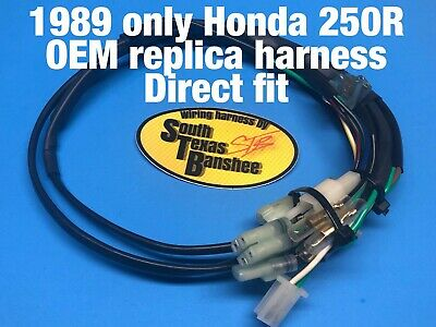 1989 Honda TRX 250R wiring harness *direct fit, fits 89 only* | eBay | Trx 250r Wiring Harness |  | eBay