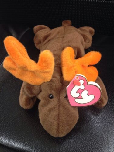 "RARE 1993 ""Chocolate"" Deutchland Tag Produced TY Beanie Baby SCARCE VARIATION"