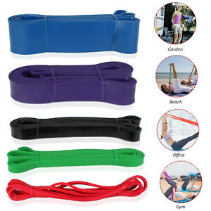 Exercise-Loop-Resistance-Bands-Crossfit-Strength-Weight-Training-Pull-Up-Band-US