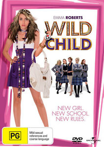 Wild-Child-NEW-DVD-Emma-Roberts-Aidan-Quinn-Region-4-Australia