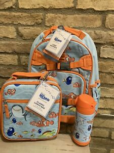 Pottery Barn Kids Finding Nemo Large Backpack Lunchbox