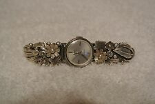VINTAGE WOMENS MIDO OCEAN STAR WATCH, WORKS,VERY SPECIAL BAND/FREE SHIPPING