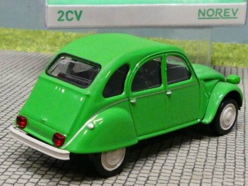 1//43 Norev Jet Car Citroen 2CV 6 Club 1979 grün 150510