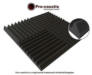Genuine-coustix-PRO-ULTRAFLEX-zeppa-alta-qualita-acustica-Schiuma-Tiles-24-Pannelli