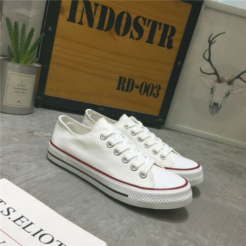 Women Low Top Shoes Canvas Sneakers