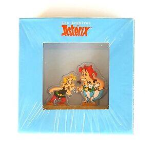 Figurine The Archives Asterix Metal Flat No 36 Asterix Obelix