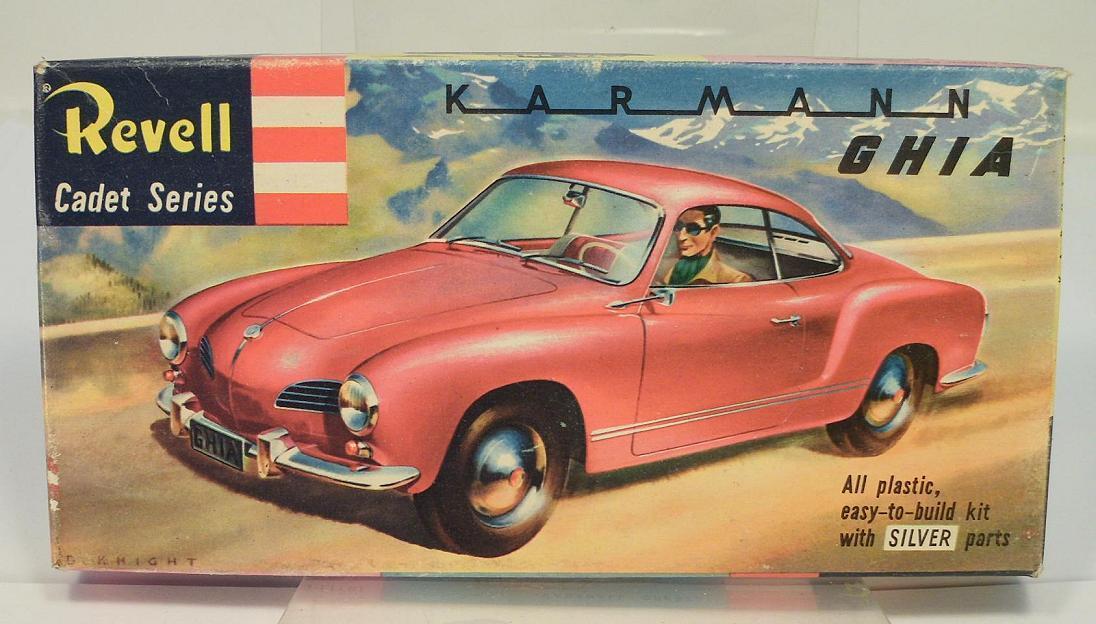 Revell Cadet Series H 901 Bausatz Kit VW Karmann Ghia OVP  1152