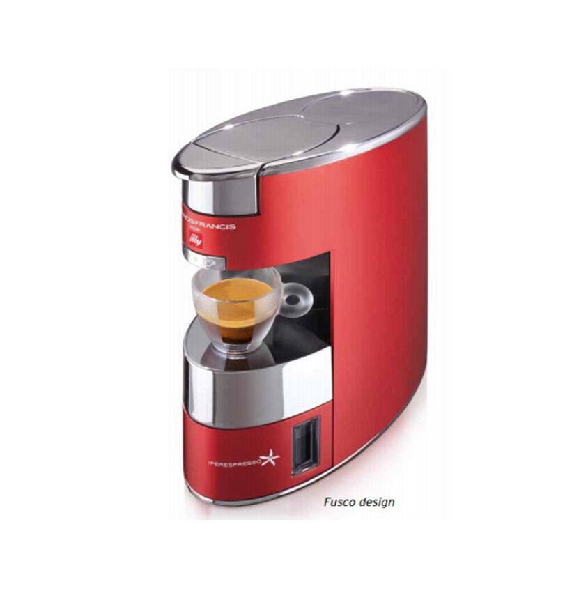 Details zu ILLY | Macchina Caffè Iperespresso X9 a Capsule | Caffe Espresso  220V Rossa
