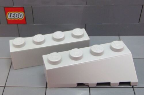 #43720//1 LEGO Choose Your Color **Pair** Wedge 4 x 2 Sloped Left /& Right