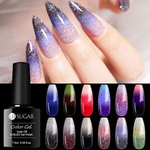 UR-SUGAR-7-5ml-Nagel-Gellack-Thermolack-Thermal-Nail-Art-UV-Gel-Polish-Soak-off