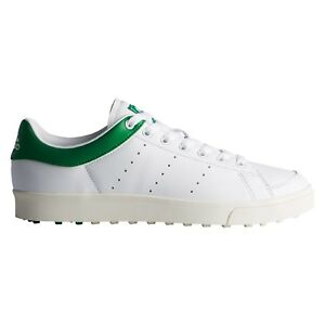 best service edc5d 56cf6 Image is loading adidas-Adicross-Classic-Shoes-Golf-Shoes-White-Style-