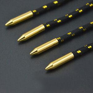 New-4pcs-Set-Gold-Color-Shoelaces-Tips-Lock-Clips-Metal-Aglet-Ends-Shoe-Supplies