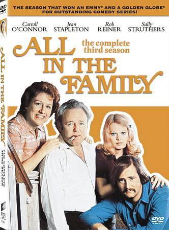 ALL IN THE FAMILY - THE COMPLETE SEASON 3 region 1---- (DVD)