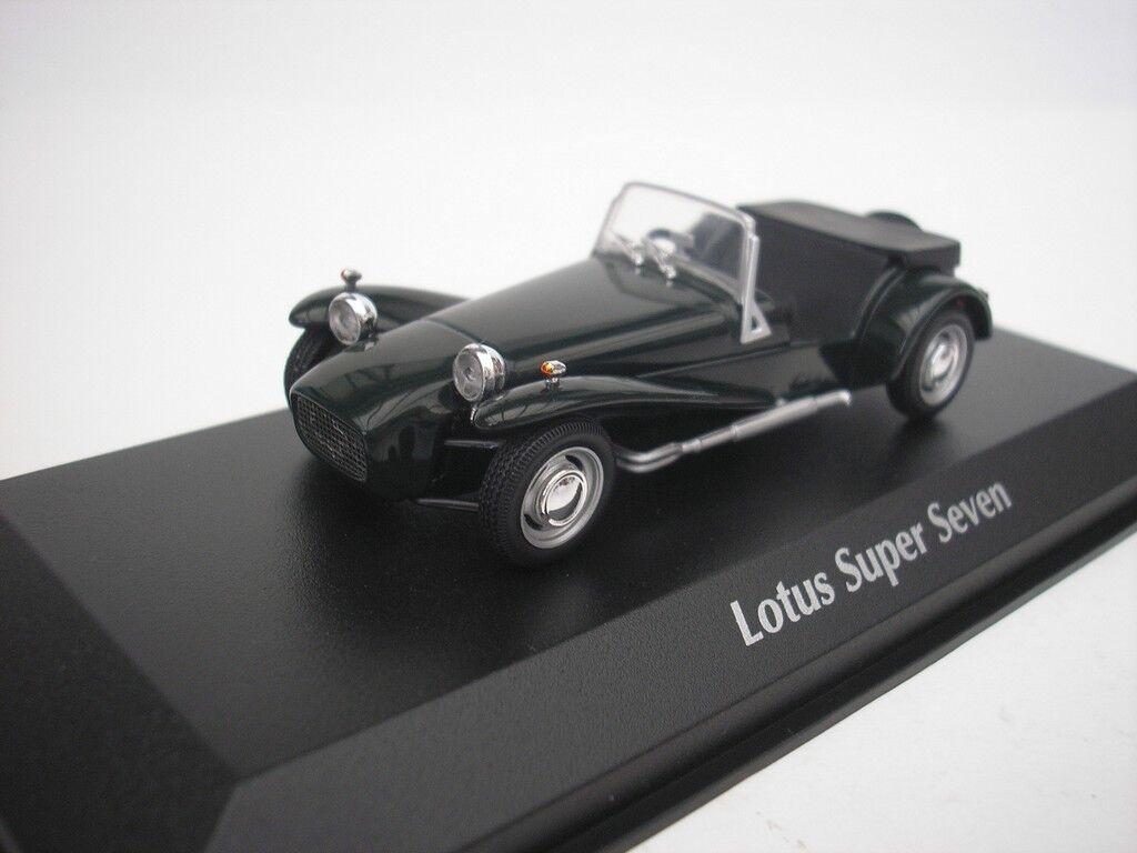 Lotus Super Seven 1968 Green 1 43 maxichamps 940113630 NEW