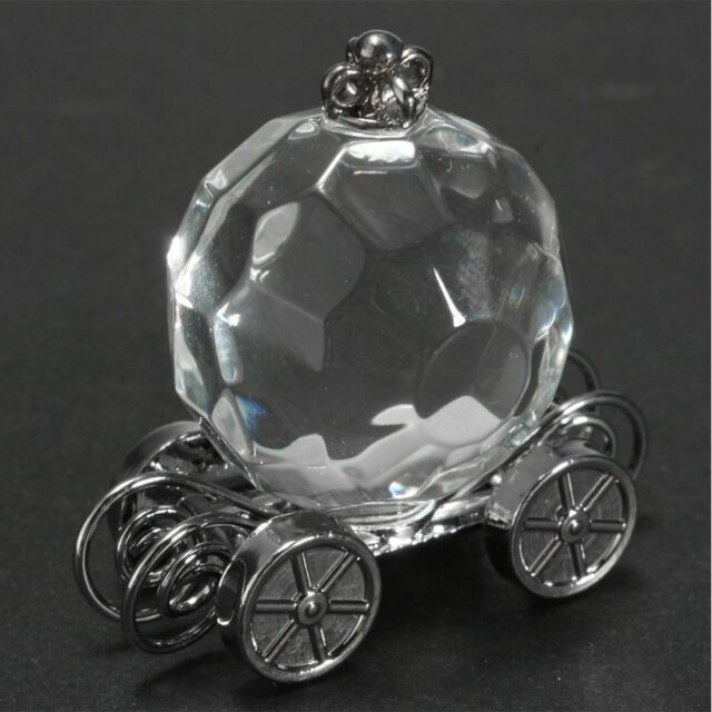 Pumpkin Carriage Birthday Gifts Crystal Collection Christening Decorations