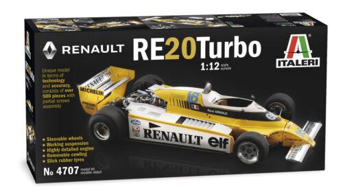RENAULT RE 20 TURBO 1.12 ITALERI NUOVA