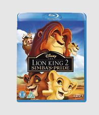 The Lion King 2 Simbas Pride BLURAY Region DVD